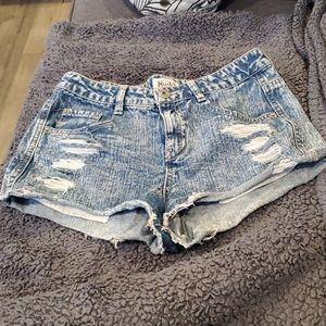 Mudd Womens Jean Shorts Size 9